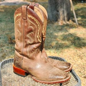 Cody James Square Toe Cowboy Boots Rodeo Western
